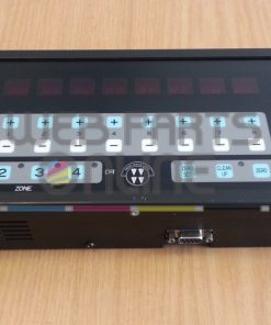 Colortron Ink Zone control panel