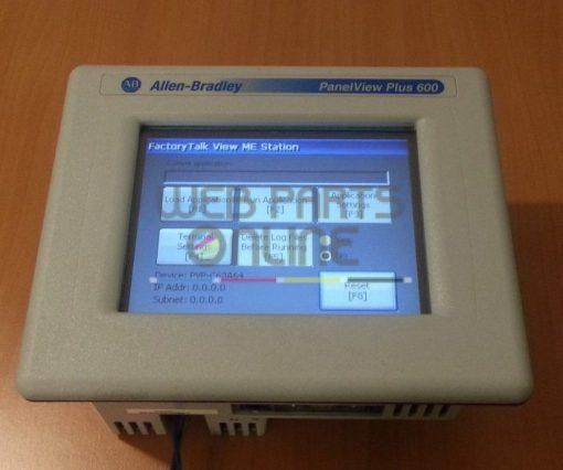 Allen Bradley 2711P-T6C20D PanelView 600
