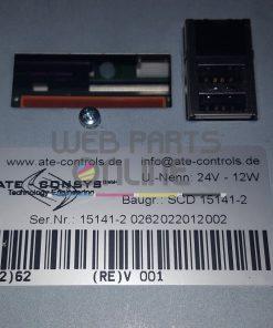ATE Controls SCD 15141-2 HMI screen
