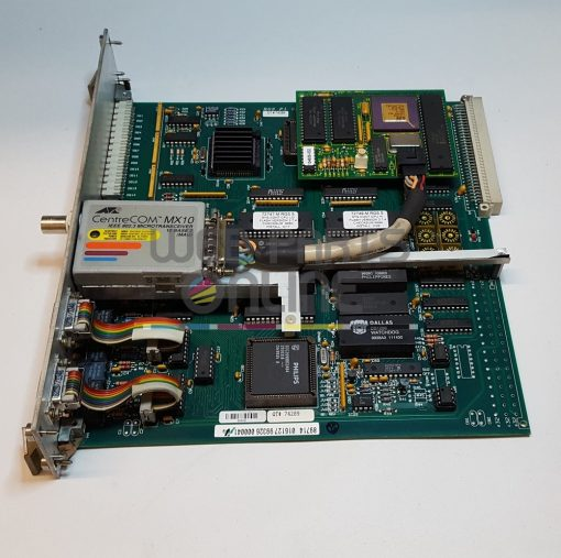 Quadtech RGS-V Press Interface CPU Board 74289