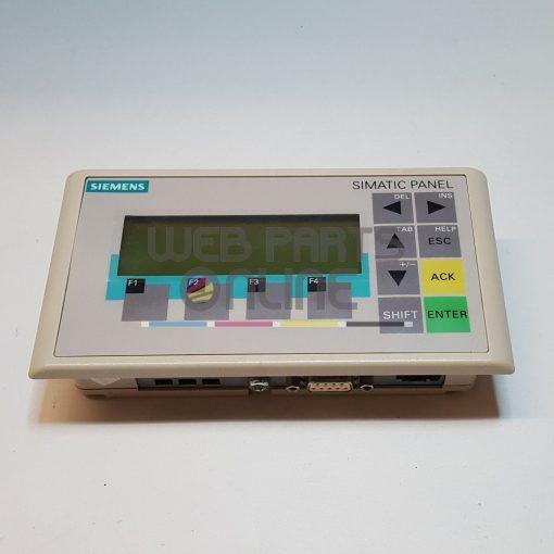 Siemens 6AV6 640-0BA11-0AX0 OP73Micro Operator panel