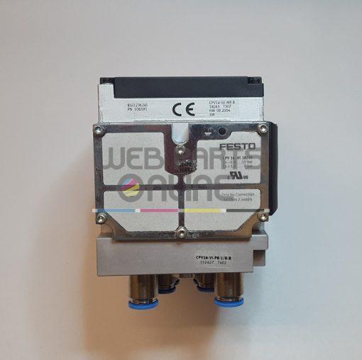 Festo CPV14 series valve block 8 way 5 2