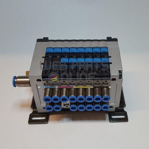 Festo CPV series valve block 8 way 2 6