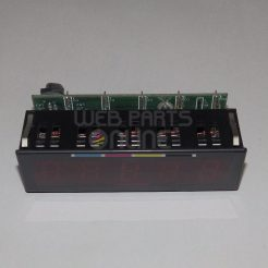 Baker Perkins 8670-055G Seven Segment Display (five digit)