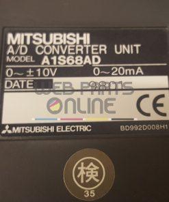 A1S68AD A/D Converter Unit