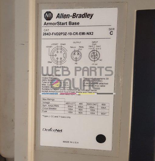 Allen Bradley 284D-FVD2P3Z-10-CR-EMI-NX2 Armorstart