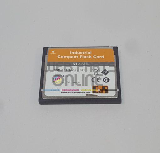 B&R SSD-C512M-02-0201 Compact Flash Card